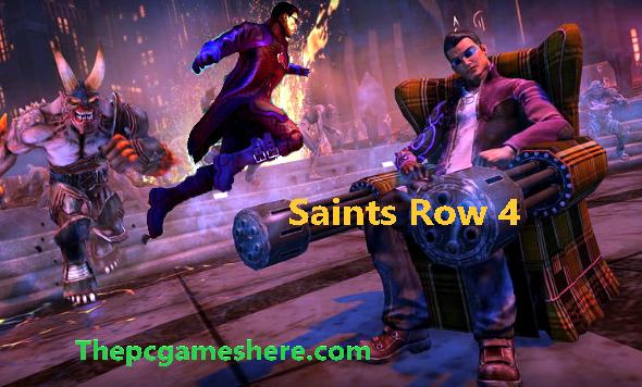 Saints Row 4 Free Download