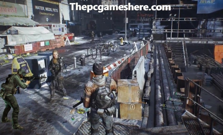 Tom Clancy's The Division Highly Compressed Pc Game