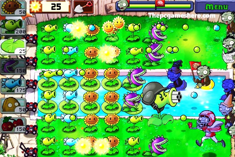 Plants vs. Zombies Highly Compressed Pc Game