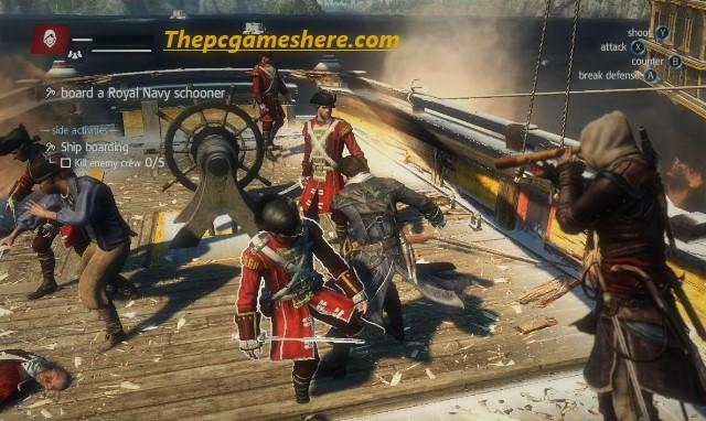 Assassin's Creed Rogue Gameplay