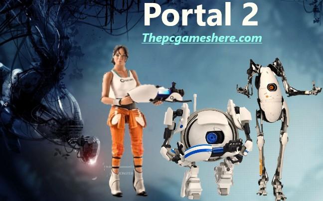 Portal 2 Game HD Wallpaper