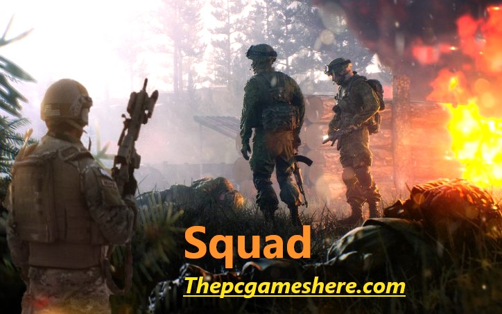 Squad Pc Game Wallpaper